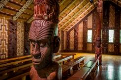 Waitangi Treaty Grounds Meeting House (credit David Kirkland)