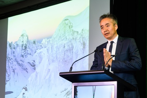 World Indigenous Tourism Summit 2018. Norbu Tenzing. Photo by Mark Coote/ markcoote.com