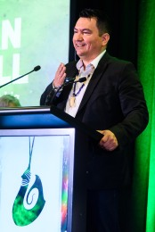 World Indigenous Tourism Summit 2018. Chief Ian Campbell. Photo by Mark Coote/ markcoote.com