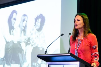 World Indigenous Tourism Summit 2018. Heather Rae. Photo by Mark Coote.