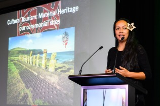 World Indigenous Tourism Summit 2018. Angie Pont. Photo by Mark Coote.