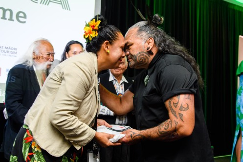 World Indigenous Tourism Summit 2018. Session 1 on Tuesday. Photo by Mark Coote.