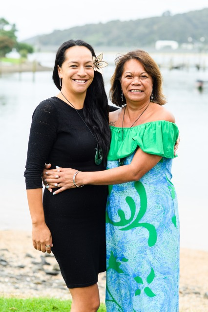 World Indigenous Tourism Summit 2018. Angie Pont, left and Edith Pakarati Araki. Photo by Mark Coote.